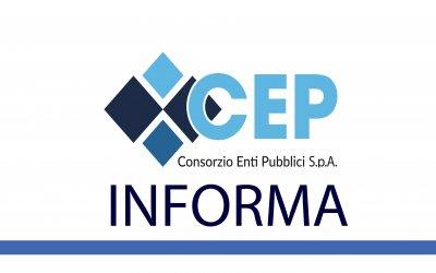 CHIUSURA SPORTELLO CEP ROCCA PRIORA - GIOVEDI 20 FEBBRAIO 2020