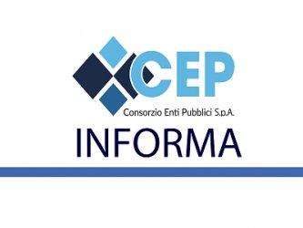 COMUNICAZIONE DI SERVIZIO - CHIUSURA SPORTELLO CEP